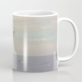 Kitesurfing on the St-Lawrence river (Québec, Canada) Coffee Mug