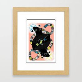 Gemini Beast Framed Art Print