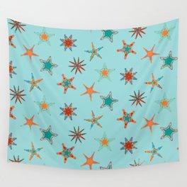 Fish tales: Starfish pattern 1d Wall Tapestry