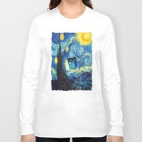 starry night Long Sleeve T-shirts featuring STARRY by MiliarderBrown