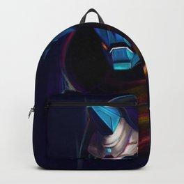 NEON Cayde-6 fan art Backpack