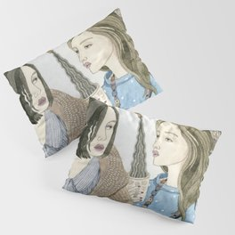 Just Between Us Girls Pillow Sham