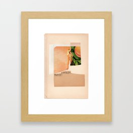 ultimately the cohesion of all  Framed Art Print