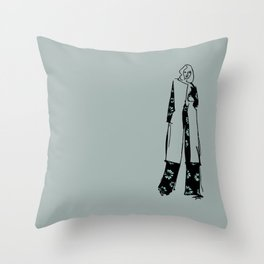szkic Nº 001 Throw Pillow