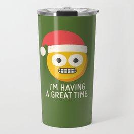White Knuckle Christmas Travel Mug