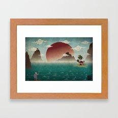 Three Of Seven Framed Art Print