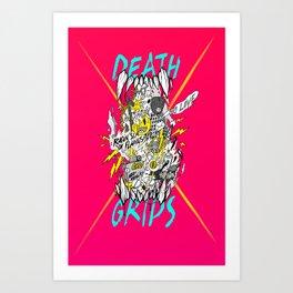 death grips acid tribute Art Print