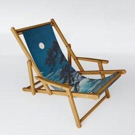 Spring Moon At Ninomiya Beach By Kawase Hasui Sling Chair