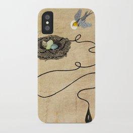 Bird's Winged Flight iPhone Case