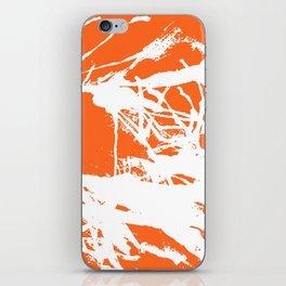 Orange Base iPhone Skin