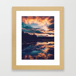 Horizon. Framed Art Print