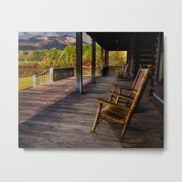 Back Porch View Metal Print