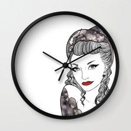 Noir Witch Wall Clock
