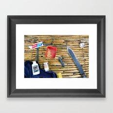 Necessary Framed Art Print
