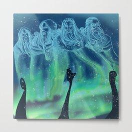 Viking warriors soul Metal Print