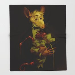 The Strange Child Throw Blanket