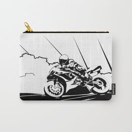 Motorcycle Race Carry-All Pouch