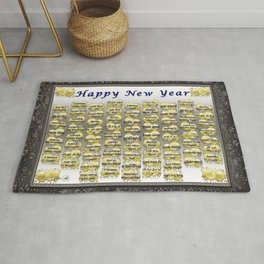 Happy New Year Rug