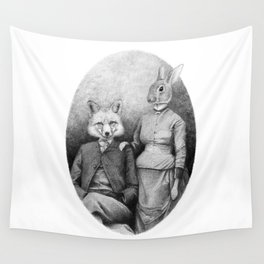 Couple II Wall Tapestry
