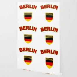 Berlin, Germany symbol, red Wallpaper