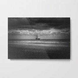 Tall Ship English Channel Metal Print