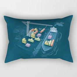 Game Port Rectangular Pillow