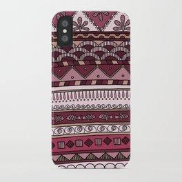 Yzor pattern 004 lilac iPhone Case