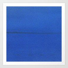 Blue Noise Art Print