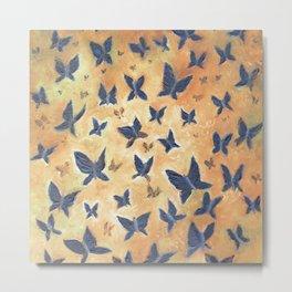 Iron Butterflies Metal Print