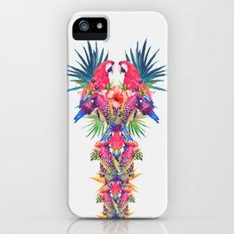 Parrot Kingdom iPhone Case