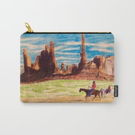 Southwest Native Americans Carry-All Pouch