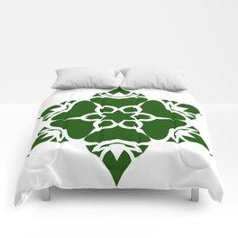 Green Ornament Comforters