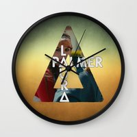 laura palmer Wall Clocks featuring Bastille - Laura Palmer by Thafrayer