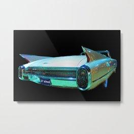 Psychedelic Car Metal Print