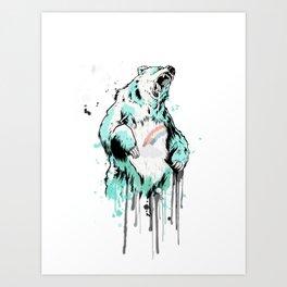 Care Bear Art Print