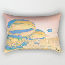 Aqueous World Rectangular Pillow