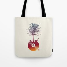Vinyl Tree 2 Tote Bag