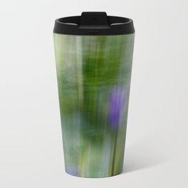 Tropical Impressionism (Purple Water Lily) Travel Mug