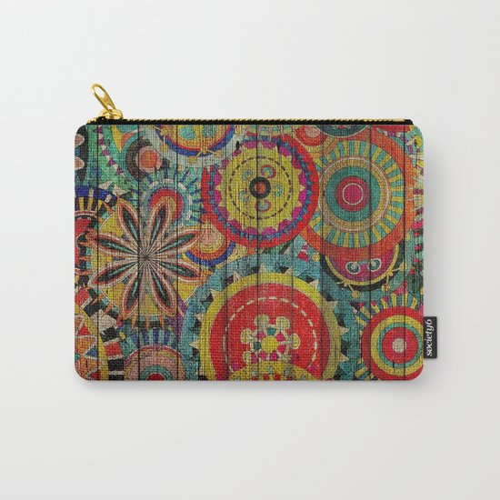 Kashmir on Wood 01 Carry-All Pouch