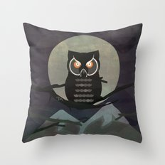 The owls are not what they seem. (Twin Peaks) Throw Pillow