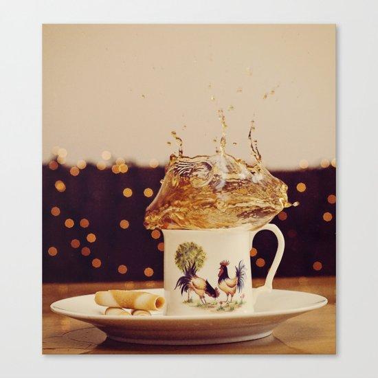 Splish Splash Sploosh Canvas Print