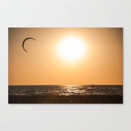 Sunset Session Canvas Print