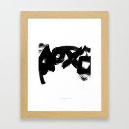Play, Station Framed Art Print