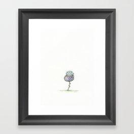 Tiny Flower, 2018 Framed Art Print