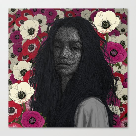 Introverted Canvas Print