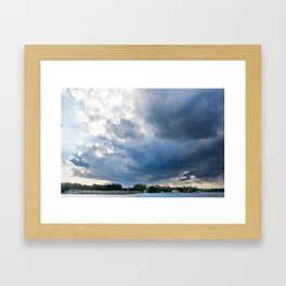 Stormy Weather Framed Art Print