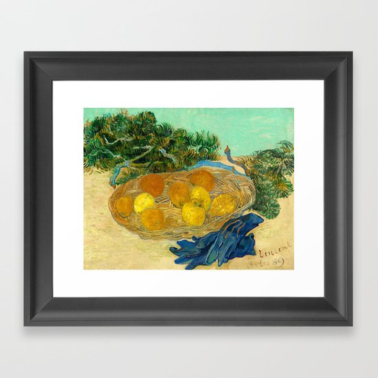 Van Gogh Still Life with Lemons and Oranges by fineearthprints