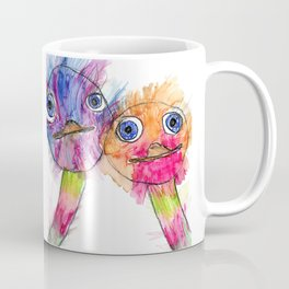 Ostrich Love Coffee Mug