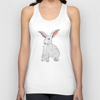rabbits Tank Tops featuring Rabbits by Wee Jock