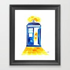 The Doctor of Oz Framed Art Print